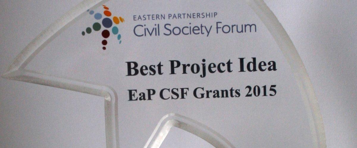 Best Project Idea award