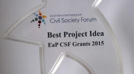 "Відзнака ""Найкраща проектна заявка""Best Project Idea award"